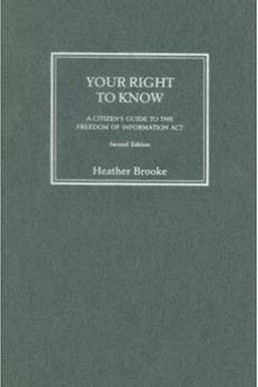 Your Right To Know book cover
