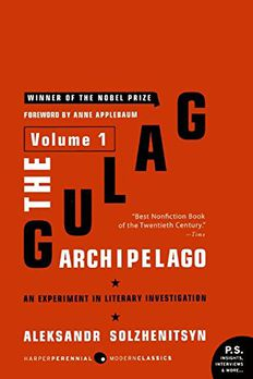 The Gulag Archipelago Volume 1 book cover
