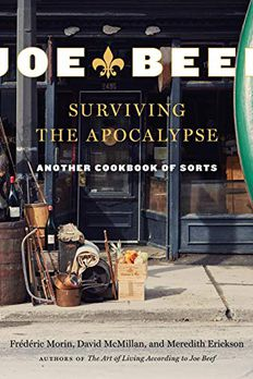 Joe Beef book cover