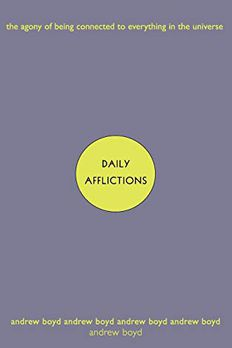 Daily Afflictions book cover