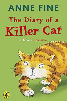 THE DIARY OF A KILLER CAT book cover