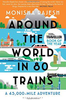 Around the World in 80 Trains book cover