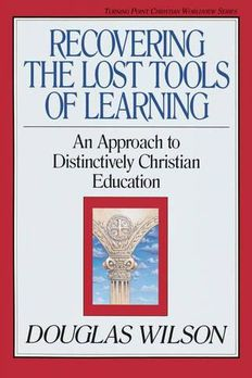 Recovering the Lost Tools of Learning book cover