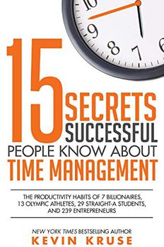 15 Secrets Successful People Know About Time Management book cover