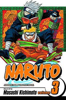 Naruto, Vol. 3 book cover