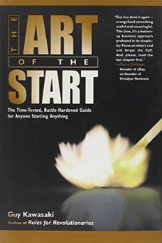 The Art of the Start book cover