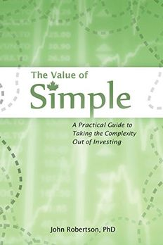 The Value of Simple book cover