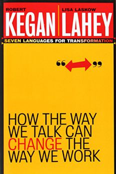 How the Way We Talk Can Change the Way We Work book cover