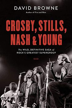 Crosby, Stills, Nash and Young book cover