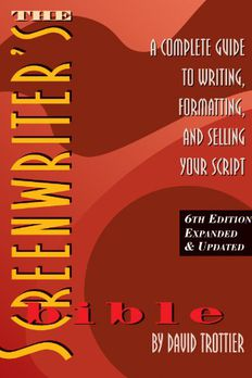 The Screenwriter's Bible, 6th Edition book cover