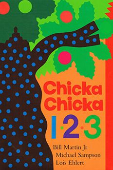 Chicka Chicka 1, 2, 3 book cover
