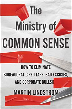 The Ministry of Common Sense book cover