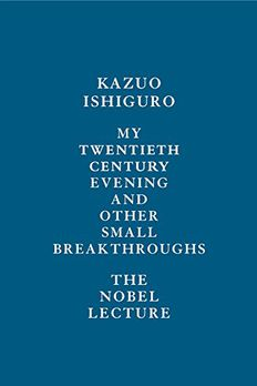 My Twentieth Century Evening and Other Small Breakthroughs book cover