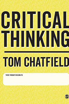 Critical Thinking book cover