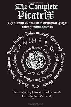 The Complete Picatrix book cover