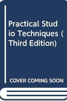 Practical Studio Techniques (Third Edition) book cover