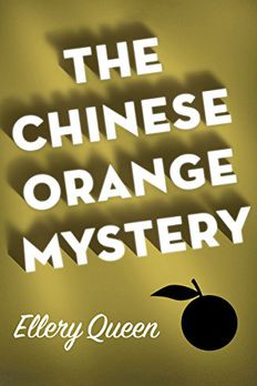 The Chinese Orange Mystery book cover