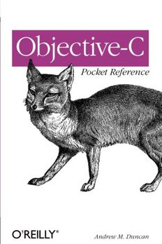 Objective-C Pocket Reference book cover