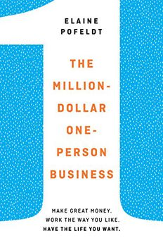 The Million-Dollar, One-Person Business book cover