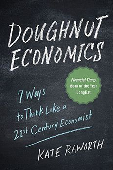 Doughnut Economics book cover