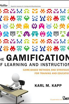 The Gamification of Learning and Instruction book cover