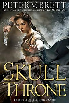 The Skull Throne book cover