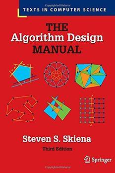 The Algorithm Design Manual book cover
