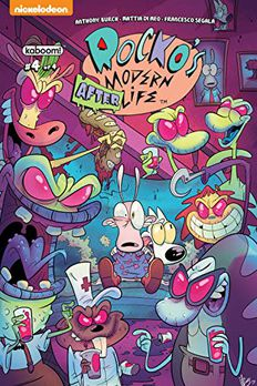 Rocko's Modern Afterlife #4 book cover