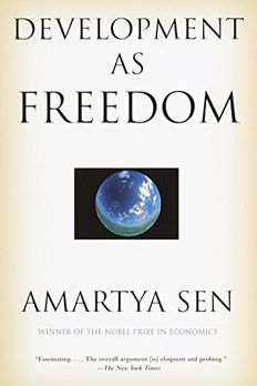 Development as Freedom book cover