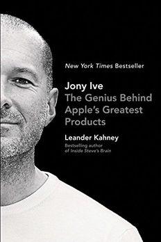 Jony Ive book cover