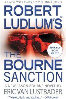 The Bourne Sanction book cover