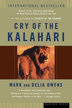 Cry of the Kalahari book cover