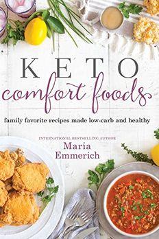 Keto Comfort Foods book cover