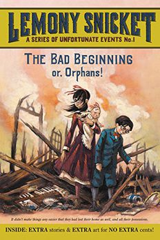 The Bad Beginning book cover