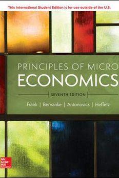 Principles of Microeconomics book cover