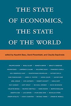 The State of Economics, the State of the World book cover