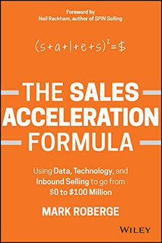 The Sales Acceleration Formula book cover
