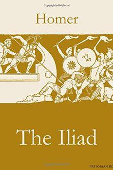 The Iliad book cover