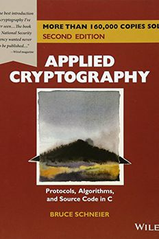 Applied Cryptography book cover