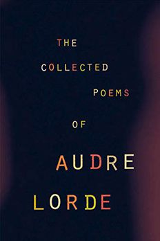The Collected Poems of Audre Lorde book cover