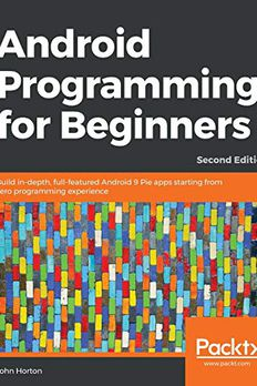 Android Programming for Beginners book cover