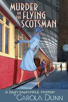Murder on the Flying Scotsman book cover