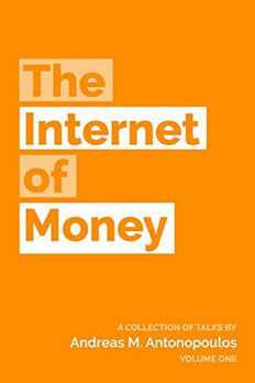 The Internet of Money book cover