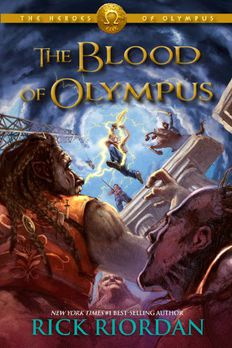 The Heroes of Olympus, Book Five The Blood of Olympus book cover