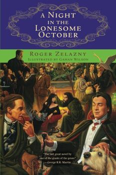 Night in the Lonesome October book cover