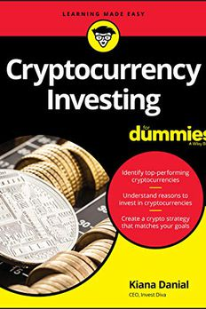 Cryptocurrency Investing For Dummies book cover