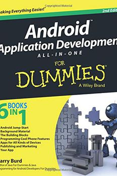 Android Application Development All-in-One For Dummies book cover