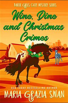 Wine, Dine and Christmas Crimes book cover