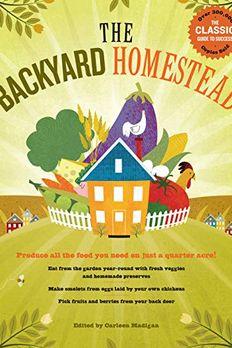 The Backyard Homestead book cover