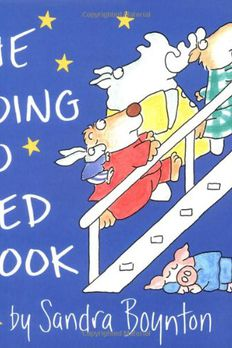 The Going to Bed Book book cover